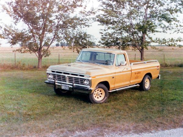 jimwich ford pickup vehicle f150 1975 explorer
