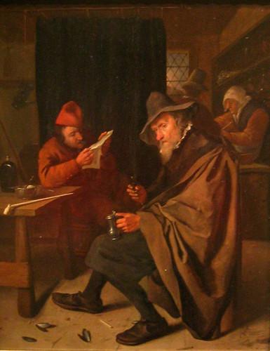The Drinker by Jan Steen