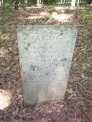 Sarah Welling (trint) Tags: burfordville semo missouri capegirardeau mill village rural grave cemetary gravestones graveyard goth 1839 welling sarah