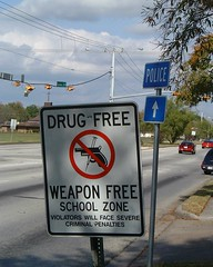 Drug Free Weapon Free Zone