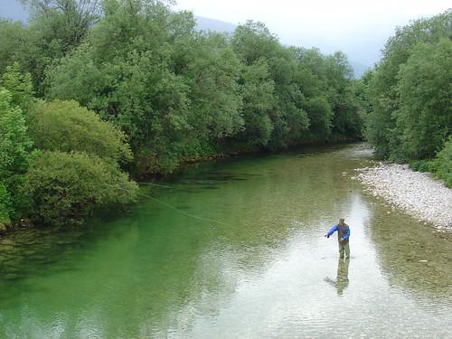 fishing slovenia