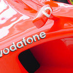 Vodafone F1 racing car thumbnail