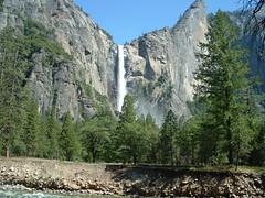 Another waterfall (thepatrick) Tags: s3000 yosemite california waterfall trees