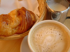 Breakfast in Paris Charles de Gaulle airport (Silly Jilly) Tags: paris france