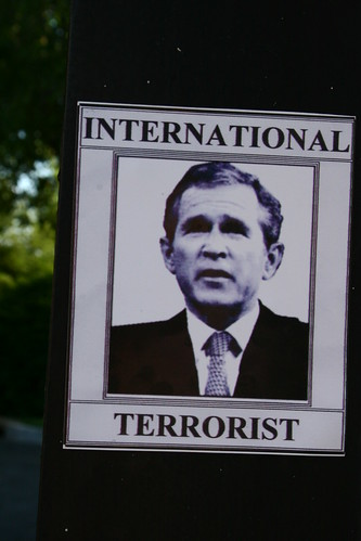 "Bush, ""International Terrorist"""