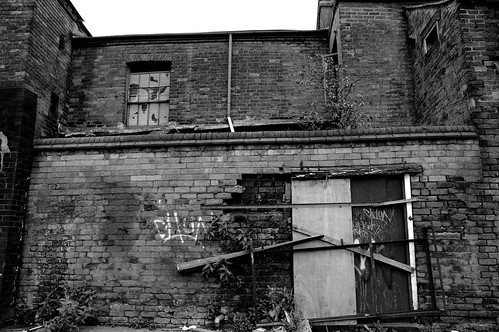 Old Digbeth workshops.  Click picture to see orginal by Andy Howell