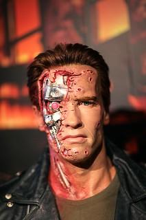 Terminator Wax Figure