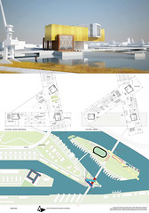 Magdalena Vujacic, Master plan for Szczecin Islands, concept design for Cultural centre, Szczecin, 2014.