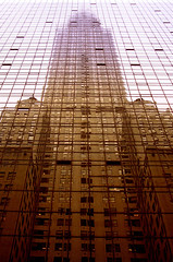 Chrysler building in gold - by Hourman