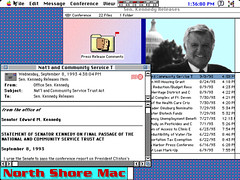 Kennedy on North Shore Mac BBS - 1993