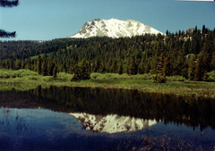 Mount Lassen reflection
