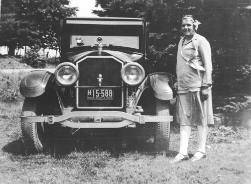 the new car, 1926