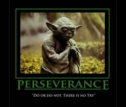 Motivational Inspirational Quotes: Yoda Inspirational Poster