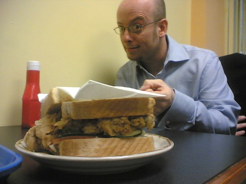 Colin Brumelle and Steve's Unusually Large Sandwich