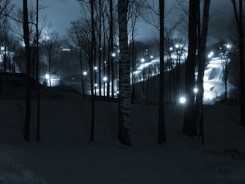 jiminy peak at night