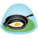 Travel Skillet (jeremy.britton) Tags: travel chicago egg icon workshop pan throat 37signals skillet frying lozenge gettingreal