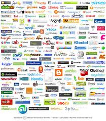 Social Media Service Logos
