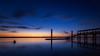 Calma en el Crepúsculo... (Explored 14/12/2016) (protsalke) Tags: twilight longexposure colors beautiful calm cadiz riosanpedro blue bluehour lights nikon waterscape andalucia nikkor1635f4 quiet peace sky clouds water reflections 9stopsnd