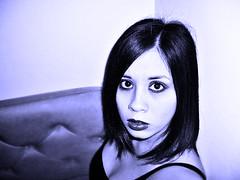 (**VIVA**) Tags: portrait photoshop self curves casio saturation hue exilim