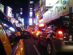 Times Square traffic (official station) Tags: nyc newyorkcity 15fav usa ny newyork night america 510fav lights vanishingpoint traffic cab taxi yellowcab taxis timessquare cabs taxicab taxicabs yellowtaxi yellowcabs yellowtaxis newyork2006 newyorkdecember2006