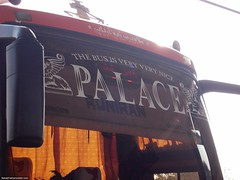 The bus is very nice palace