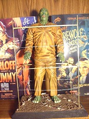 """Yagher """"Creature Walks Among Us"""" Kit (thewolfman41) Tags: monster werewolf models dracula frankenstein monsters mummy sculptures wolfman invisibleman creaturefromtheblacklagoon universalmonsters rayharryhausen resinmodels"""