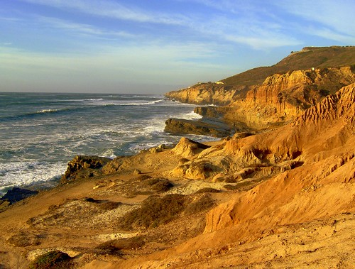 Pacific side of Point Loma, San Diego, California