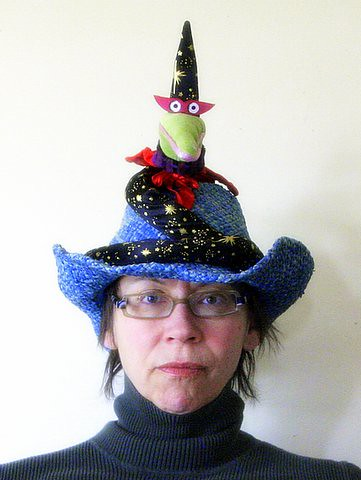 Snakes No More Forever! My Snake-Away Hat by Jean Albus.