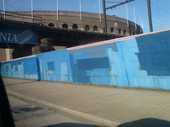 blue wall (Nick Sherman) Tags: blue pennsylvania philly paintover