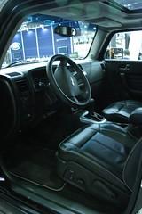 Hummer H3 inside