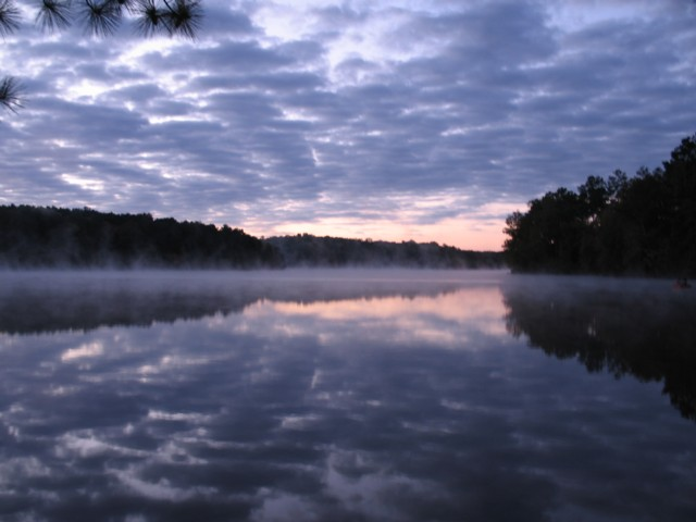 Sunrise at Natchez Trace