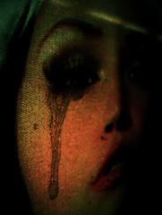 la maja llorante - by Barabeke