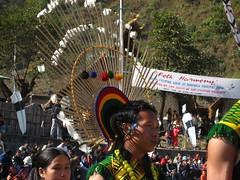 Angami warrior (dibopics) Tags: india festival tribal assam hornbill kohima nagaland dances dimapur dibopics angami hornbillfestival chakhesang rengma pochury
