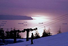 Grouse Mountain-Sunset  Views () (iano50) Tags: winter sunset snow ski sport vancouver 35mm whistler snowboarding snowman skiing pentax harbour snowy britishcolumbia ships silhouettes surreal sunsets ubc downhill mtwashington apex snowboard vista snowball mtseymour stanleypark cypress recreation lionsgatebridge northvancouver olympics fairmount  sleds seaport blackcomb grousemountain silverstar  snowflurry bigwhite winterfest nightskiing sunpeaks  thecut skirun seatoskyhighway seatosky manningpark whistlerblackcomb winterscene 2010olympics greatervancouver beautifulbc shipsinthenight  portcity winterscenic skibc grousenestrestaurant     hellobc