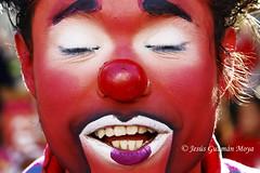 Im a Clown!!! (Jesus Guzman-Moya) Tags: red portrait rot face mxico mexico rouge rojo bravo dof bokeh retrato clown vermelho puebla payaso rood rosso rostro babel  ||| theface   fpg   outstandingshots sonycybershotdscr1 chuchogm  abigfave bonzag jessguzmnmoya tiempoiberoamericano platinumphoto top20red exposicintokio2007 exposicinfukuoka2007