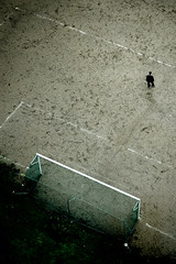 the loneliness of the goalkeeper (riazorenho) Tags: football corua solitude loneliness soccer galicia soledad ftbol goalkeeper portero