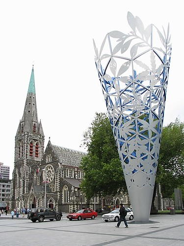 New Zealand, Christchurch: Cathedral Square