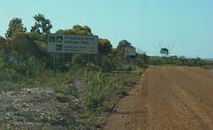 road sign (yewenyi) Tags: road park sign nationalpark australia dirt wa aus westernaustralia gravel oceania fitzgeraldriver