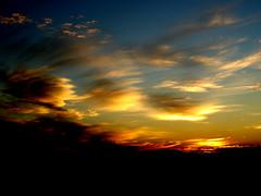 Morning Has Broken (oybay) Tags: arizona cactus sky orange clouds sunrise desert cloudy ominous redsky distance