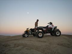 Have Fun..!! (   ) Tags: camping sunset fun desert uae bikes fullmoon abudhabi banchee
