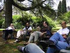 Gabriel, Dani, Martin y Luis