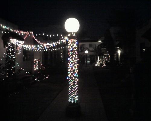 xmas lights la