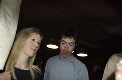 Giles Getting His Suave Face On (pauldwaite) Tags: raw croydon janine greendragon