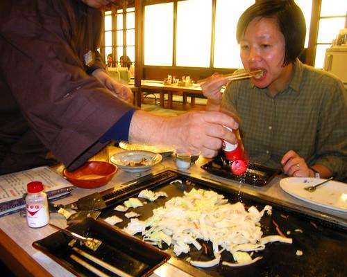 Vegetarian Teppanyaki 02  - Tokyo