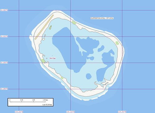 Clipperton Island - Marplot Map (1-25,000)