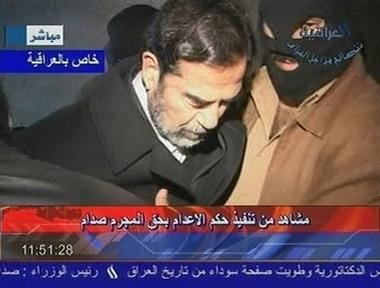 Saddam execution   2