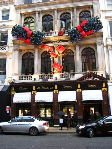 Cartier, New Bond Street, London by Geraldine Curtis.