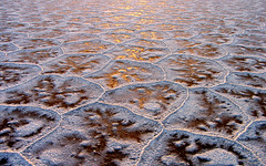Sunset on the Central Salt Lake - by HORIZON