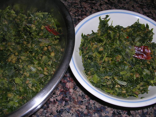 Spinach Moong