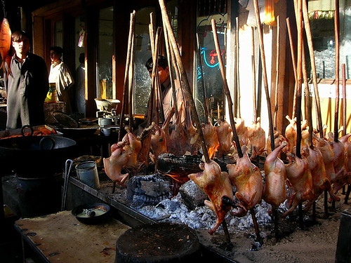 Quetta, Pakistan-Barbecuced Chickens